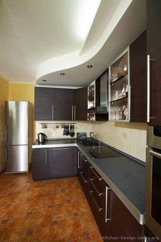 Kitchen Idea Of The Day Modern Dark Espresso Kitchen With Lovely