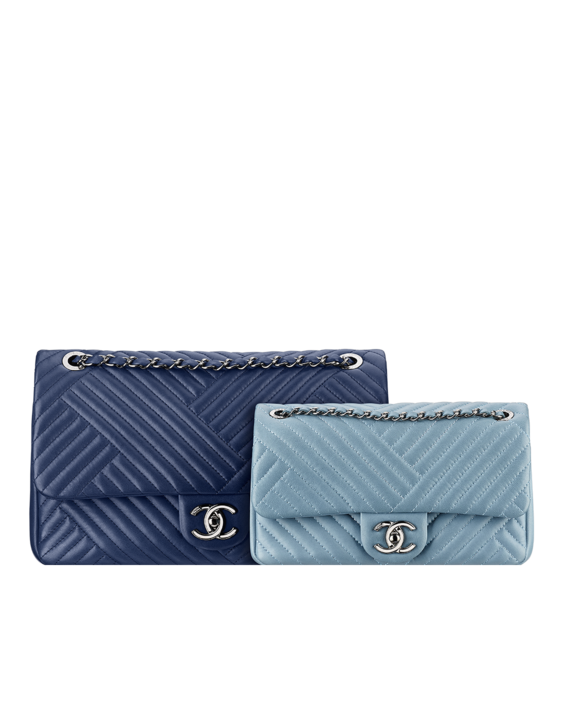 d9dd9bef49ef Chanel Blue Light Blue CC Crossing Flap Large Small Bags