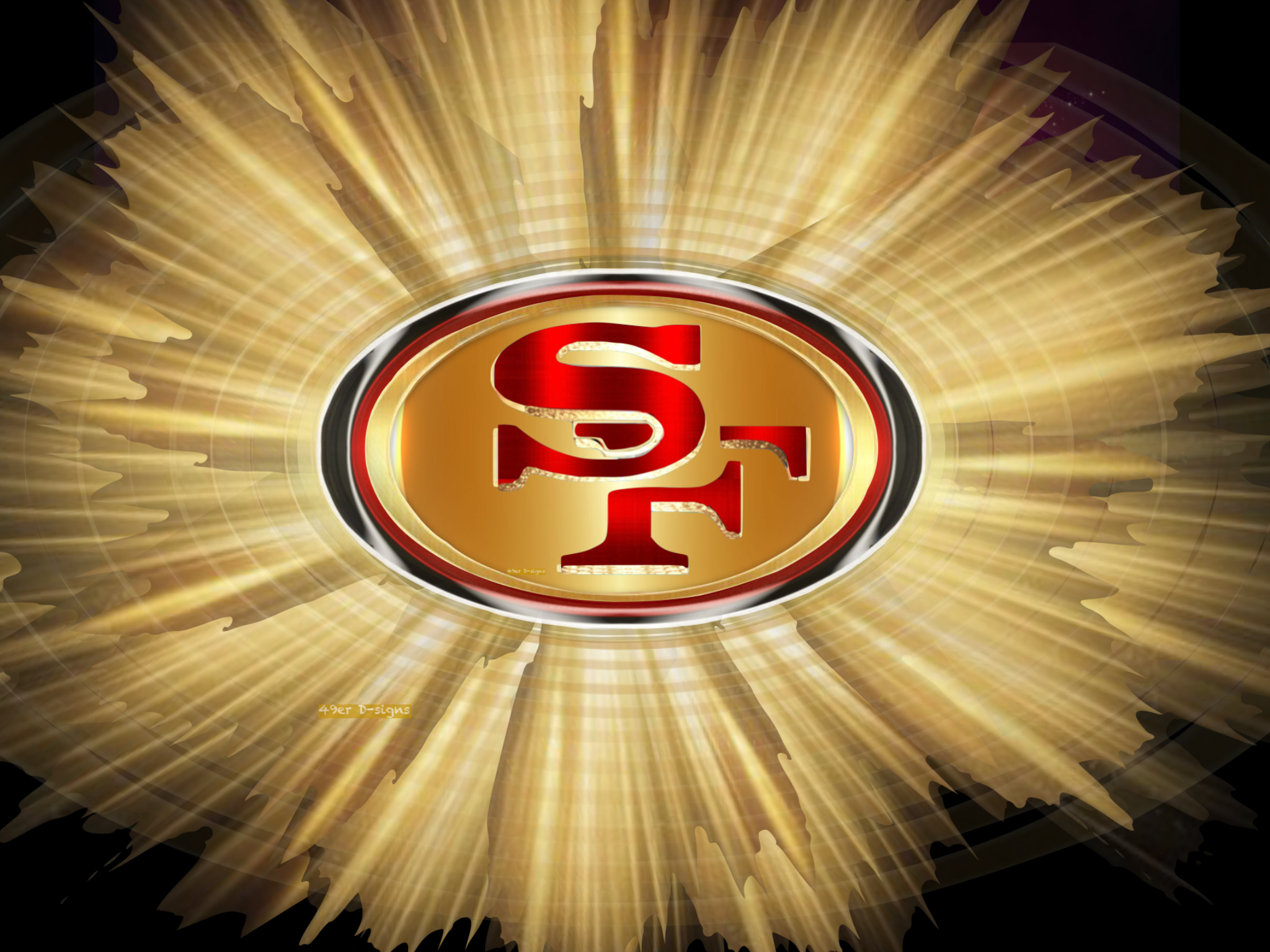 Pin by 49er Dsigns on 49er Logos San francisco 49ers logo