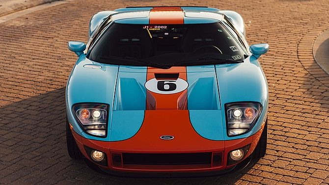 2006 Ford GT Heritage Edition 13 Miles Since New presented as lot S115.1 at Houston, TX 2015 - image10