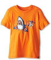 Hurley Kids Shark Attack Tee (Little Kids) Buy