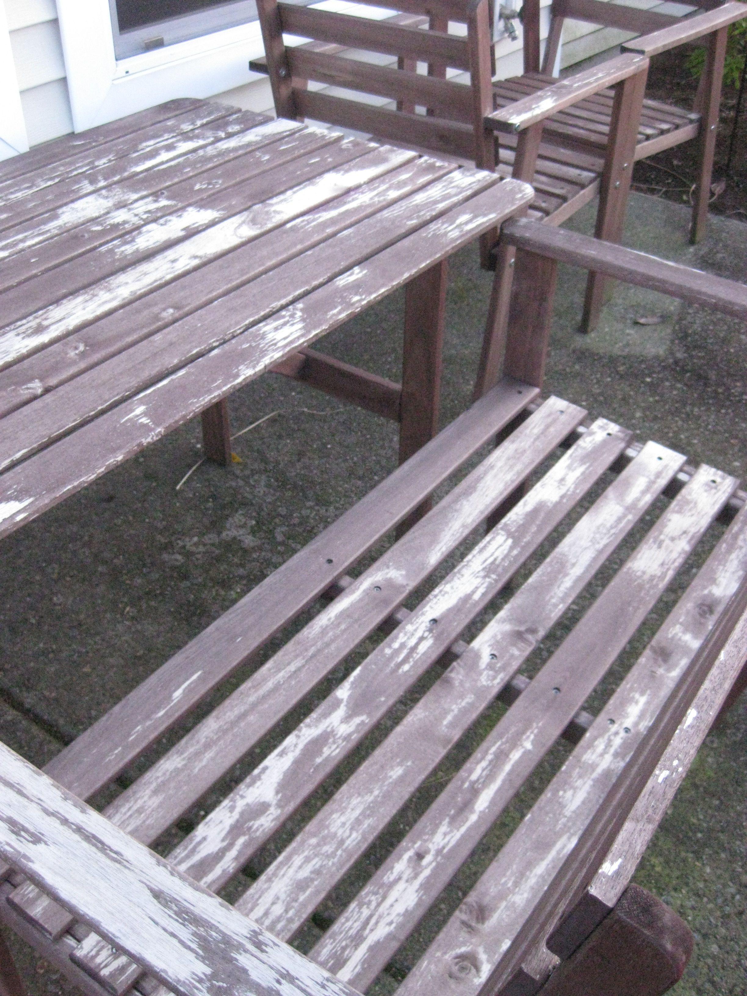 Nice Refinish Outdoor Furniture