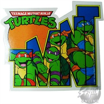 Awesome tmnt sticker