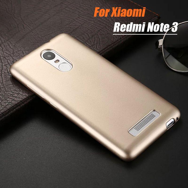 For Xiomi Redmi Note 3 Case Silicone Cover Original Xiaomi Redmi Note 3 Slim Protection Soft Shell For Xiami Hongmi Note 3 5.5