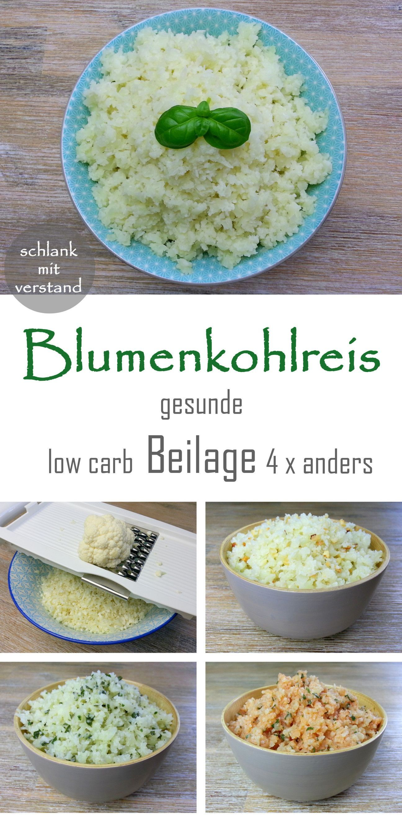 Photo of low carb Blumenkohlreis