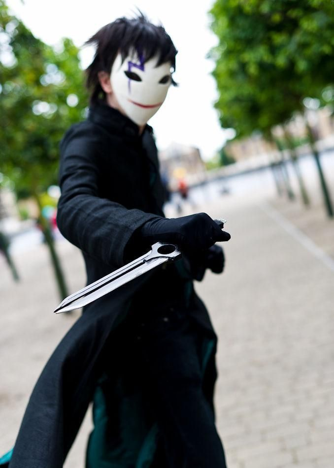 Hei Darker Than Black I Love His Mask Manga And Anime D