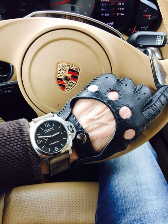 Driving Gloves Hand Made Leather Gloves Guantes De Cuero