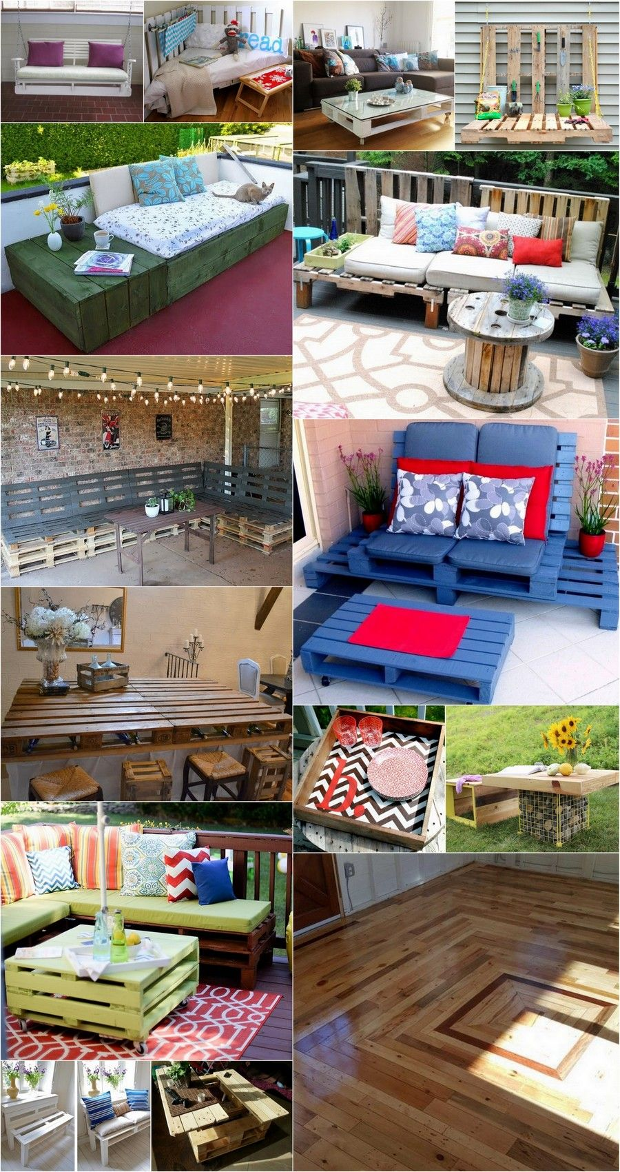 Wooden Pallet Projects Plans - coffe table with storage ...