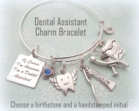 Dental Assistant Gift Graduation Gift for by HopeisHipJewelry