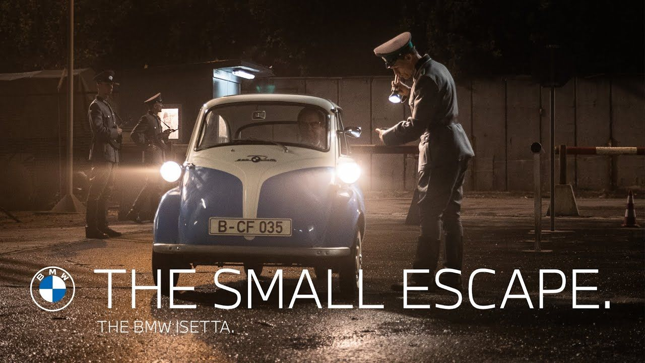 The Small Escape In 2020 Bmw Isetta Isetta New Bmw 3 Series