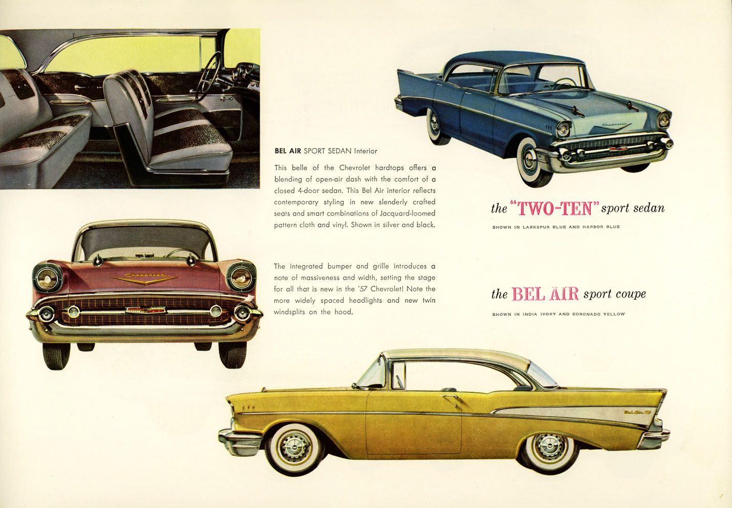 1957 Chevy 1957 Chevrolet Chevrolet Automobile Advertising