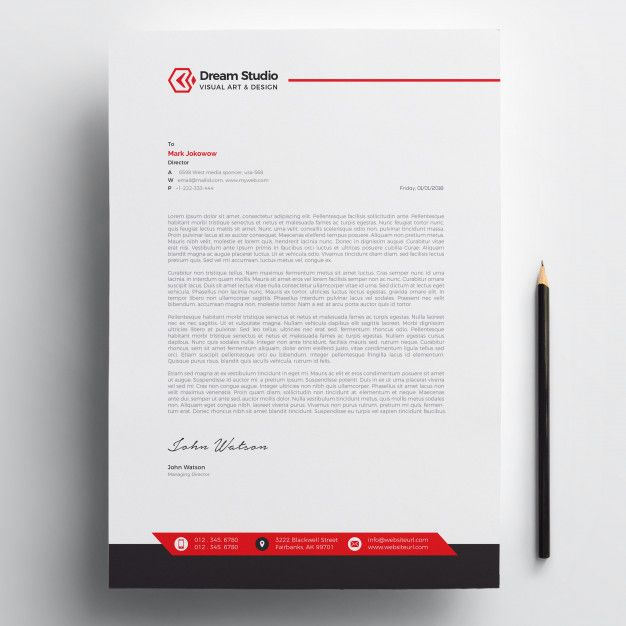 Aeolus Professional Corporate Letterhead Template 001024: Letterhead Template Free Download #letterhead #design