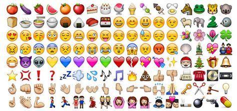 Bedeutung der Smileys & Menschen in WhatsApp - Liste