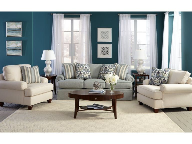 Craftmaster Living Room Sofa C912150   Tyndall Furniture Galleries, INC    Charlotte, Mooresville,