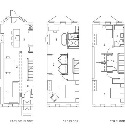 Master Suite 2 Bed Above Martin House Interior Design Projects Floor Plans