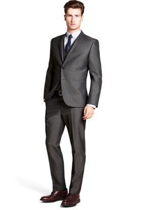 Shirt/Tie combo for a charcoal suit? | Wedding Groom | Pinterest ...