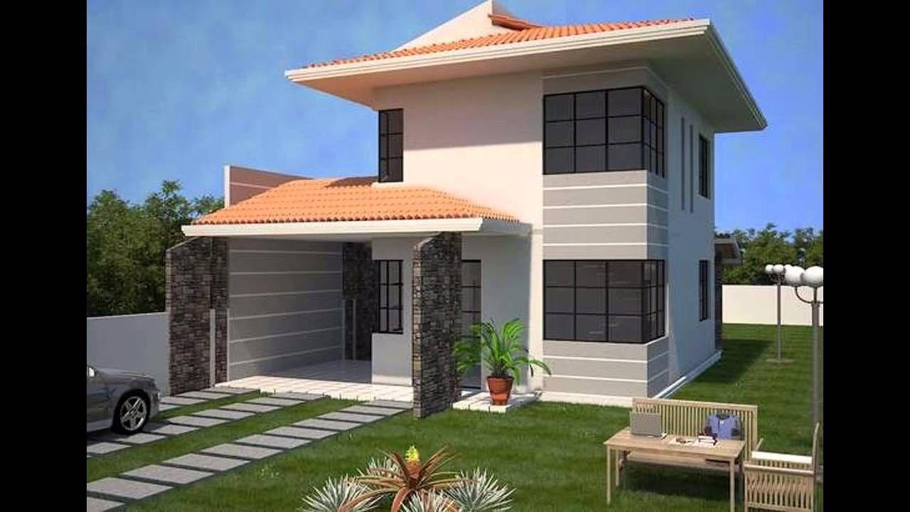 modelos de casas de dos plantas modernas