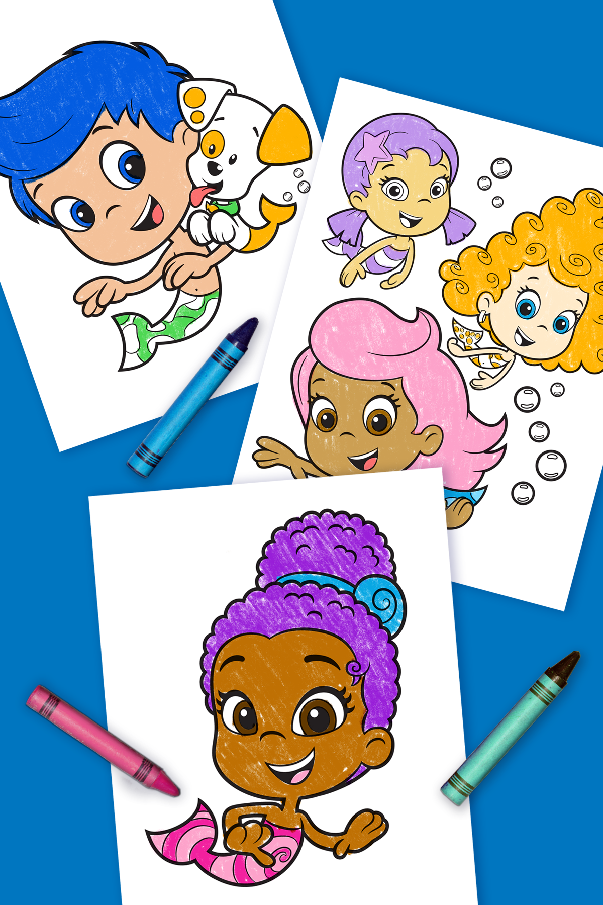 Meet Zooli Bubble Guppies Coloring Pages Bubble Guppies Coloring Pages Bubble Guppies Birthday Party Bubble Guppies Party