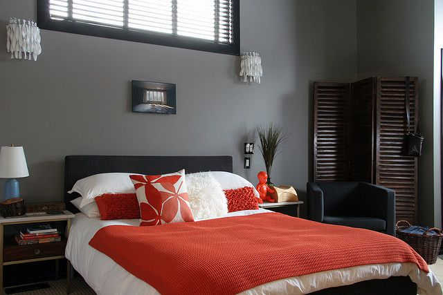 benjamin moore - chelsea gray - bedroom color