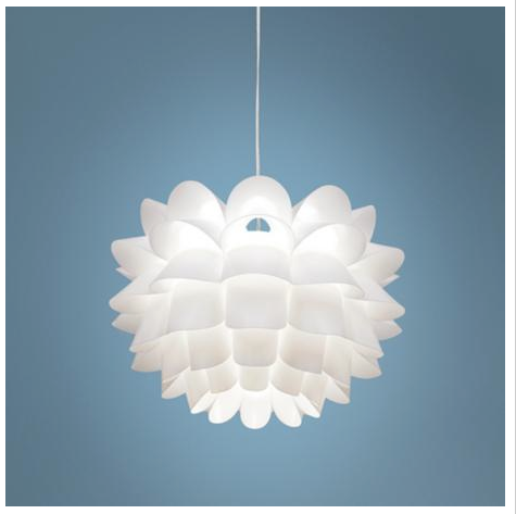 Possini pendant light httplampsplusproductspossini possini euro white flower 19 wide pendant chandelier order total includes shipping processing shipping totals will not include customs charges duties mightylinksfo