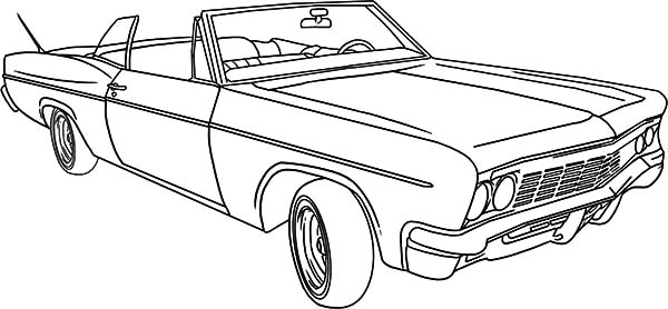 Lowrider Classic Car Coloring Pages Netart In 2020 Cars Coloring Pages Truck Coloring Pages Coloring Books