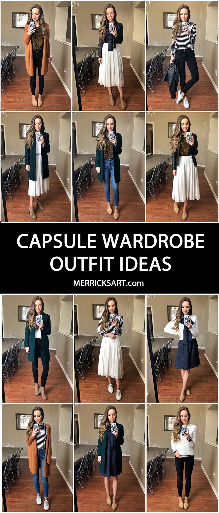How to Build a Capsule Wardrobe (13 Pieces, Dozens of Outfits) #travelwardrobesummer