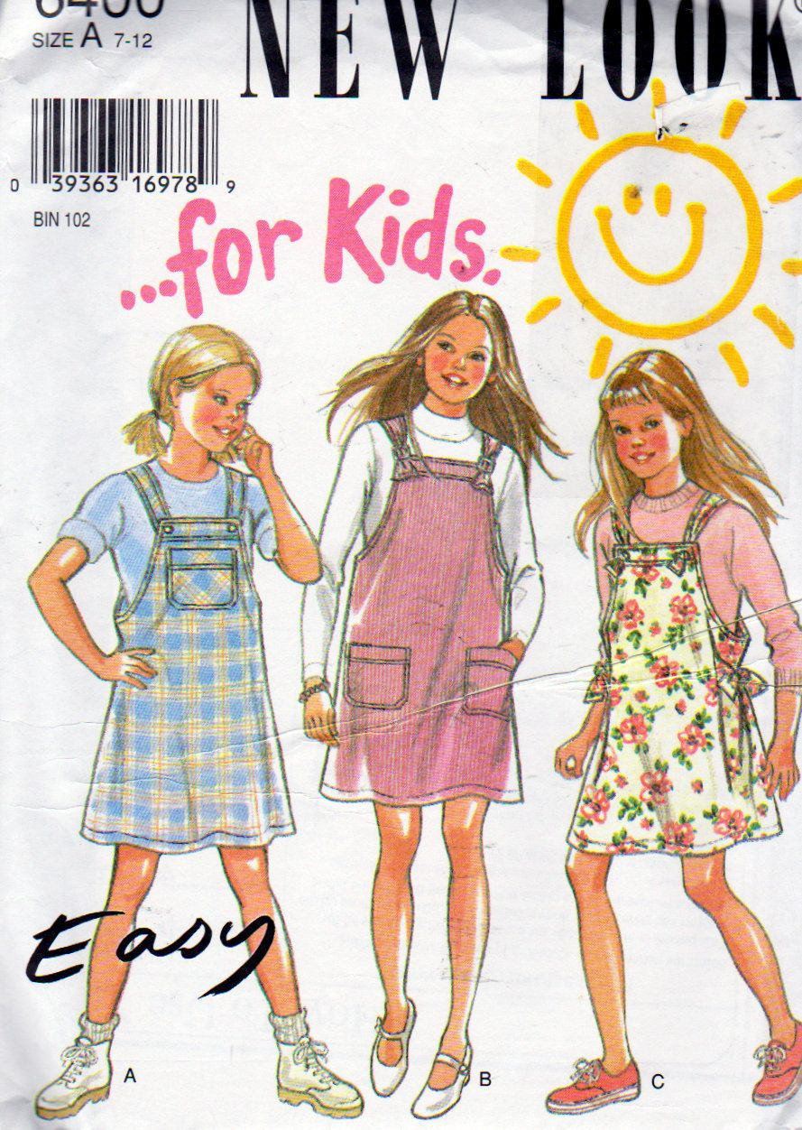 New look easy girls sizes to jumper pattern variations