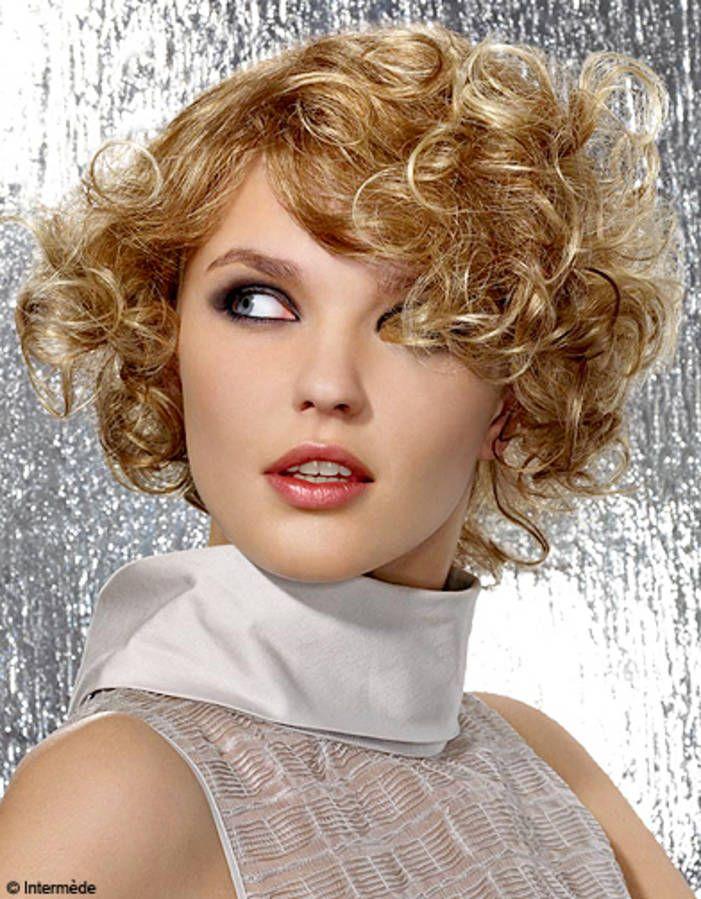 Boucles mutines Cheveux coiffure, Cheveux et Coiffure