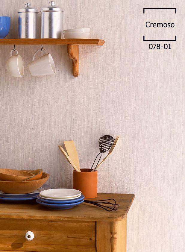 Si buscas resaltar los muebles de tu cocina, elige un color neutro ...