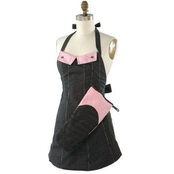 kinda cute! I think the matching oven glove is cool!