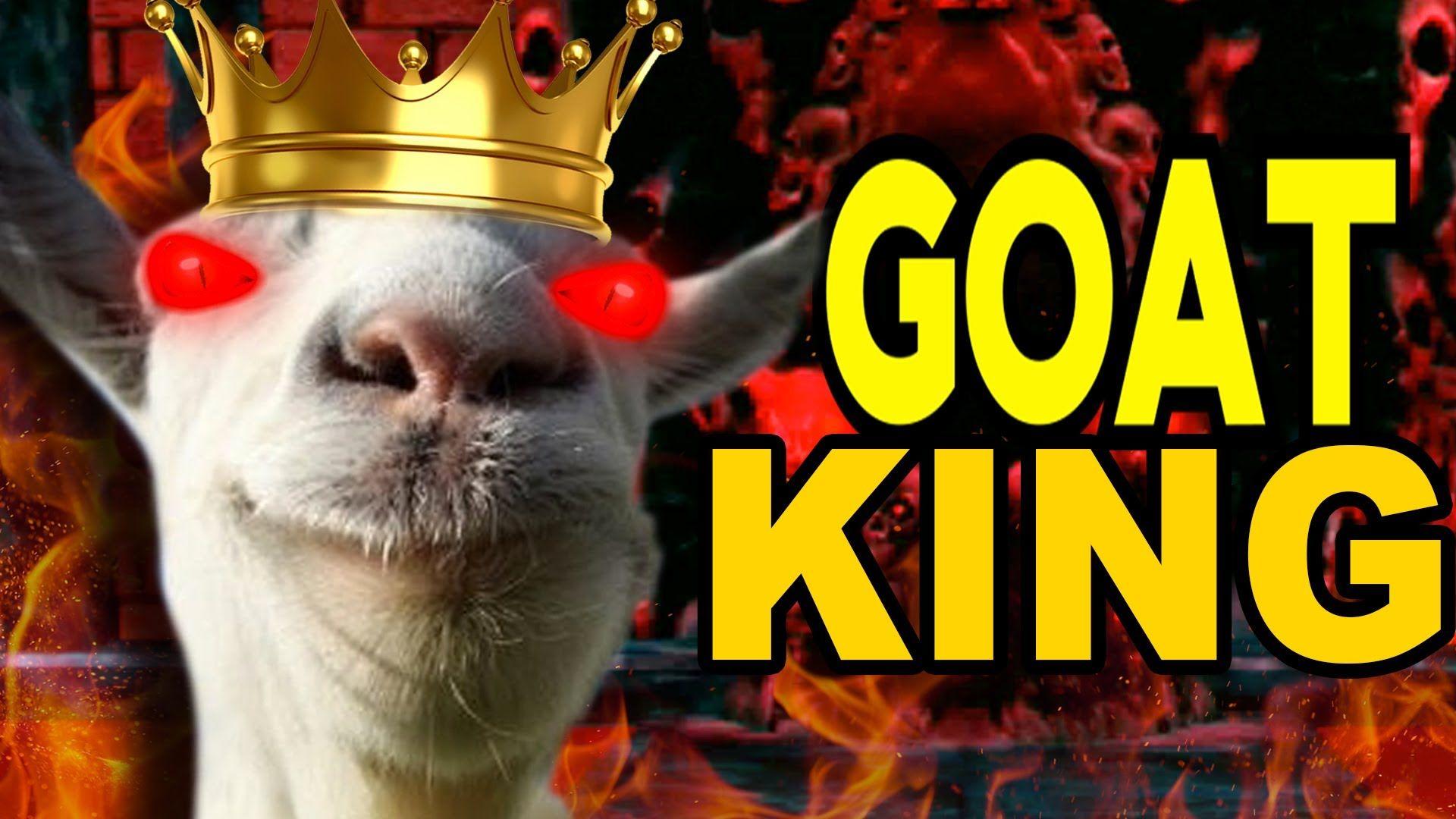 Goat Simulator Demon Goat King Tobuscus Evil Spirits