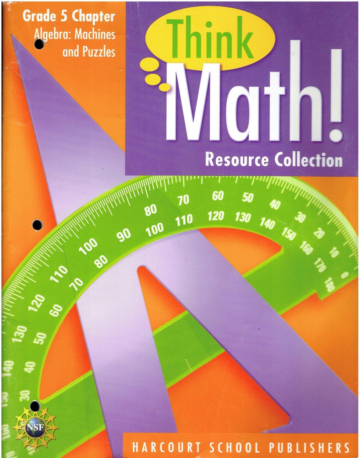 Think Math Resource Collection Grade 5 Algebra Machines and Puzzles ...