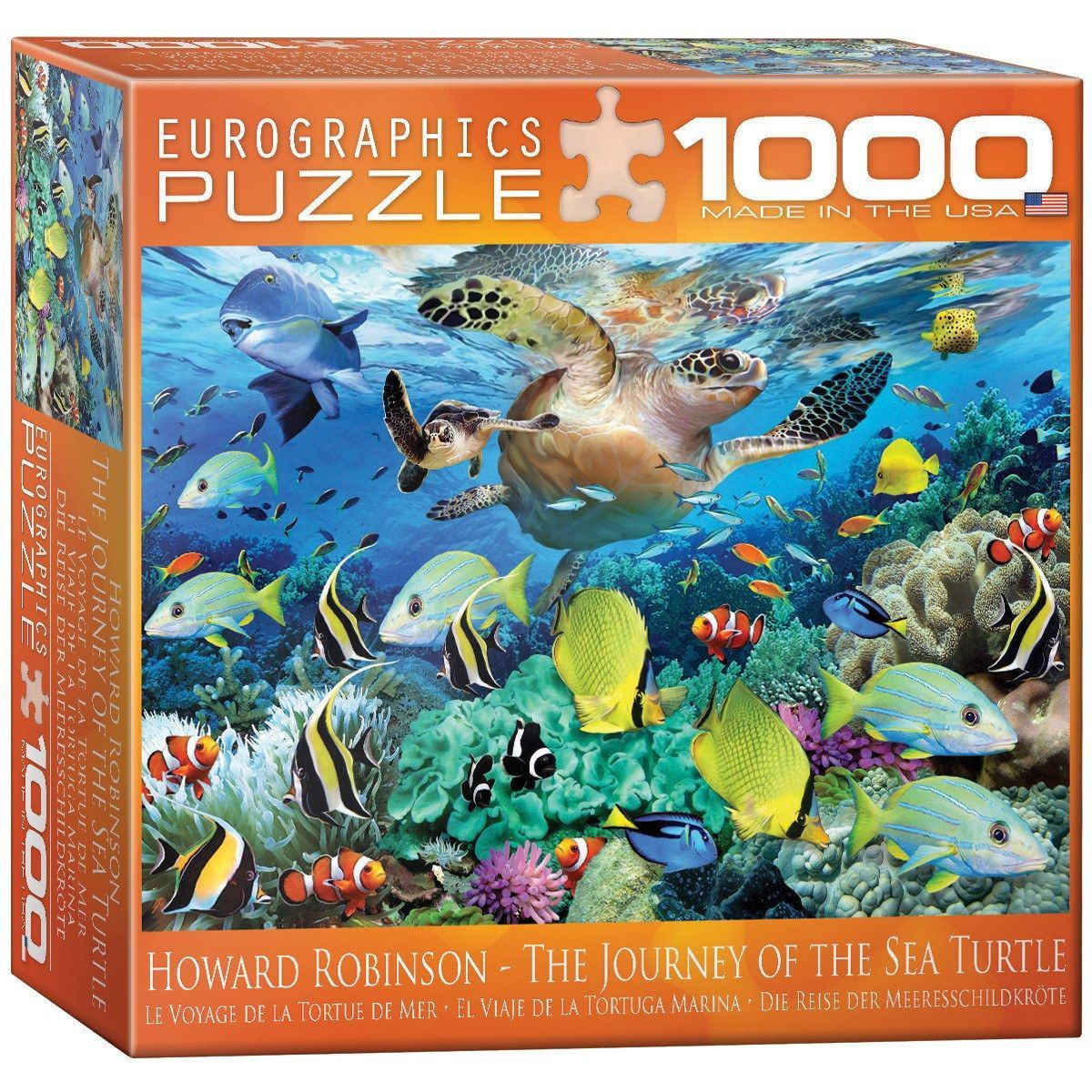 The Journey Of The Sea Turtle 1000 Piece Jigsaw Puzzle Sea Turtle Turtle 1000 Piece Jigsaw Puzzles