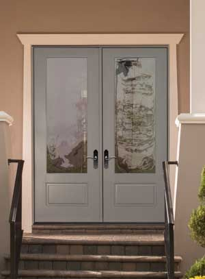 The Home Improvement News And Information Center Therma Tru Meets Marketplace Demand For Taller Exterior Doors With Glass Exterior Doors Single Patio Door