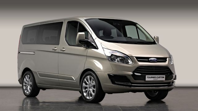 Ford Tourneo Custom Concept A Fancy Van For Europeans With