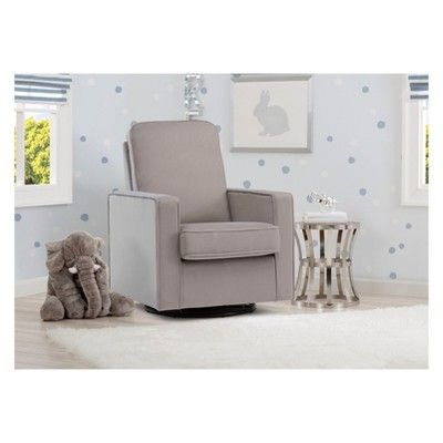 Delta Children Landry Nursery Glider Swivel Rocker Chair