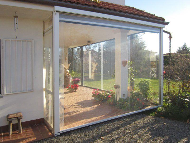Chiusura Trasparente 5 Glass Garage Door Garage Doors Greenhouse