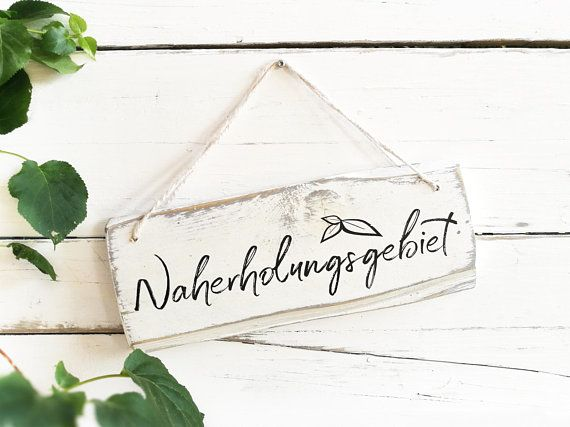 Photo of Garden Decor Wooden Sign Shabby chic Vintage Wood Old white grey decor balcony decorations decorations custom personalized