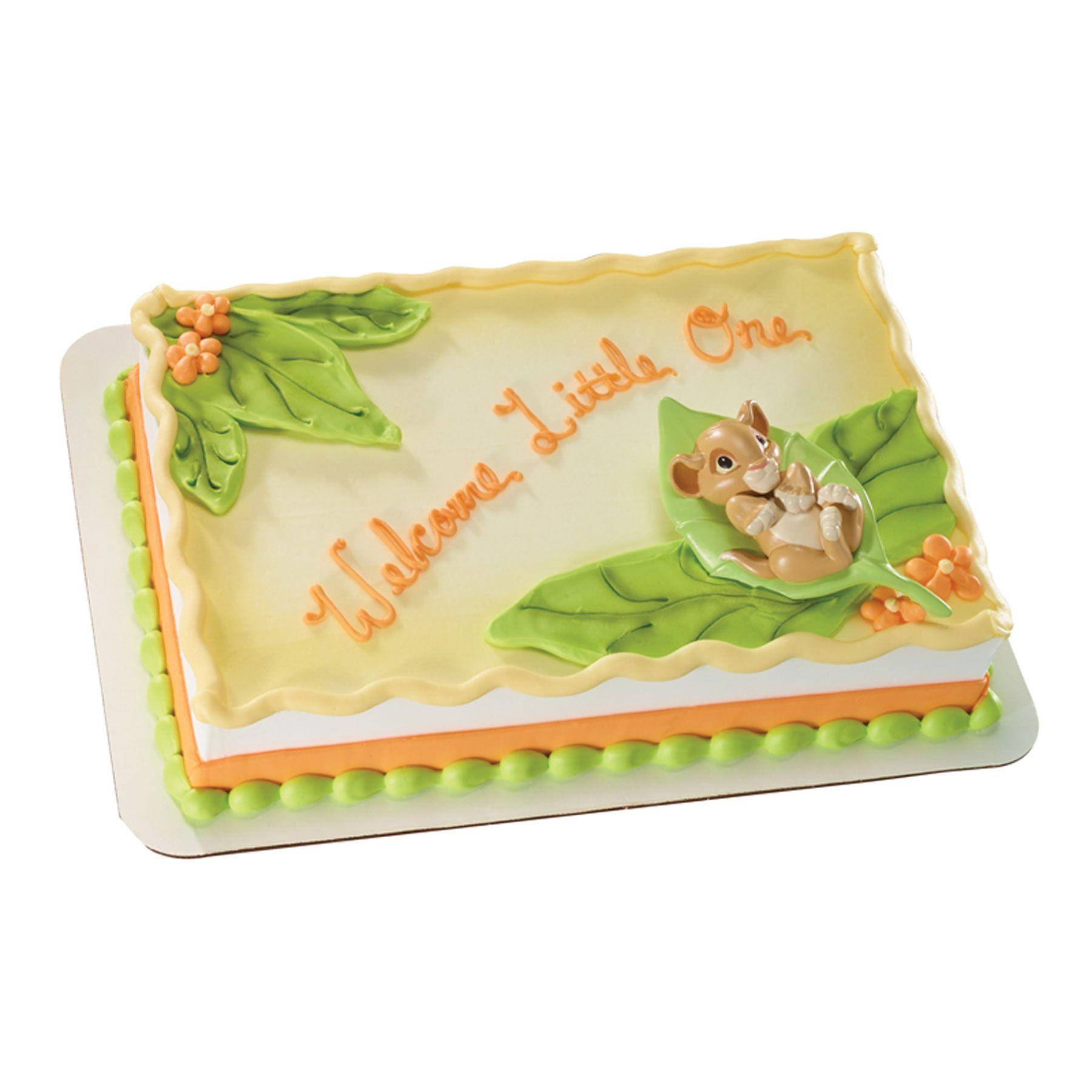 Lion King Sheet Cake The Lion King Baby Simba Decoset