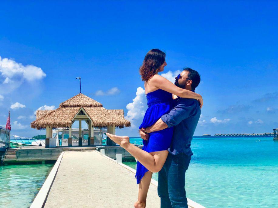 Kusha And Sahil Maldives Honeymoon Stories Weddingsutra Honeymoon Story Maldives Honeymoon Honeymoon Inspiration