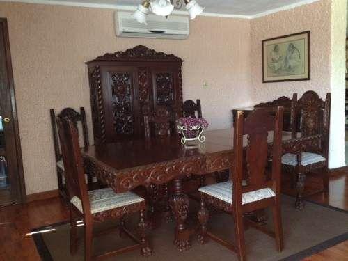 Comedor Antiguo Espaol 10 Piezas  Cedro 1900s 1362783 USD Mexico Muebles Antiguos  Dulce Hogar en 2019  Muebles antiguos Muebles y