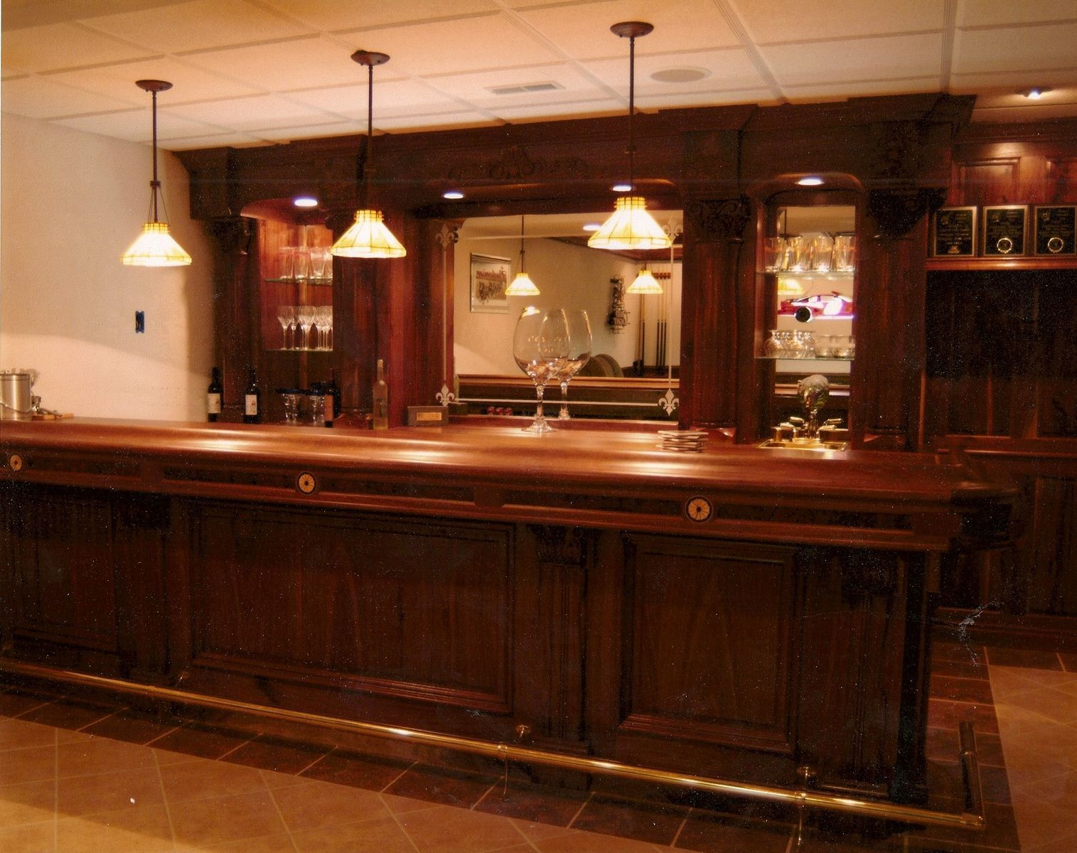 custom made bar tops | home garden kitchen bar bar wine built in ...