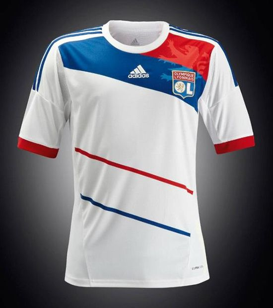 c61338ccc2a Lyon adidas 2012-13 Home | #3 | Football dress, Football shirts ...