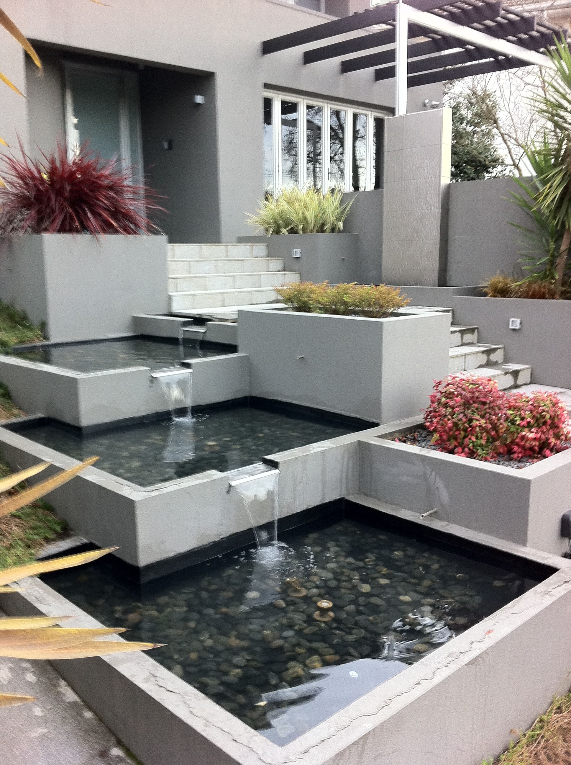 Modern Spillway Fountain Google Search Home Garden