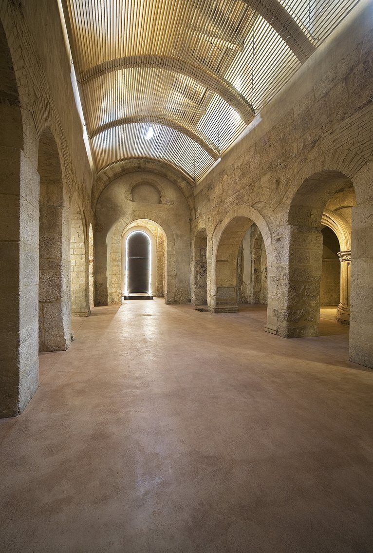 restoration of the early-christian Basilica of St. Peter in Syracuse, Italy - arch. Emanuele Fidone