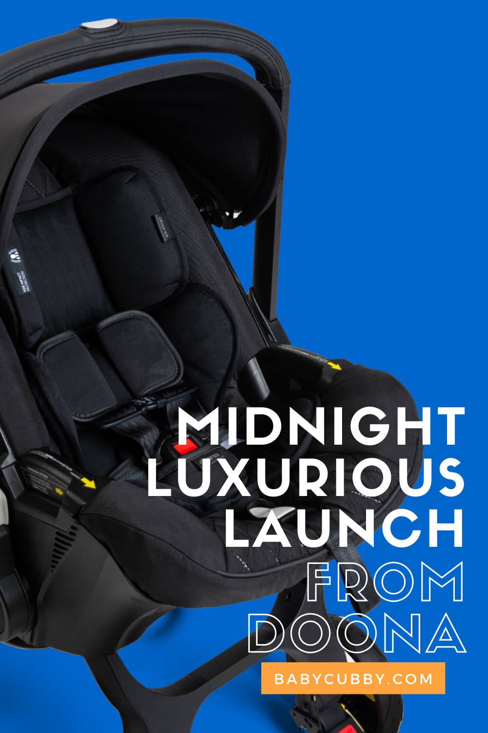Midnight Luxurious Launch from Doona The Baby Cubby