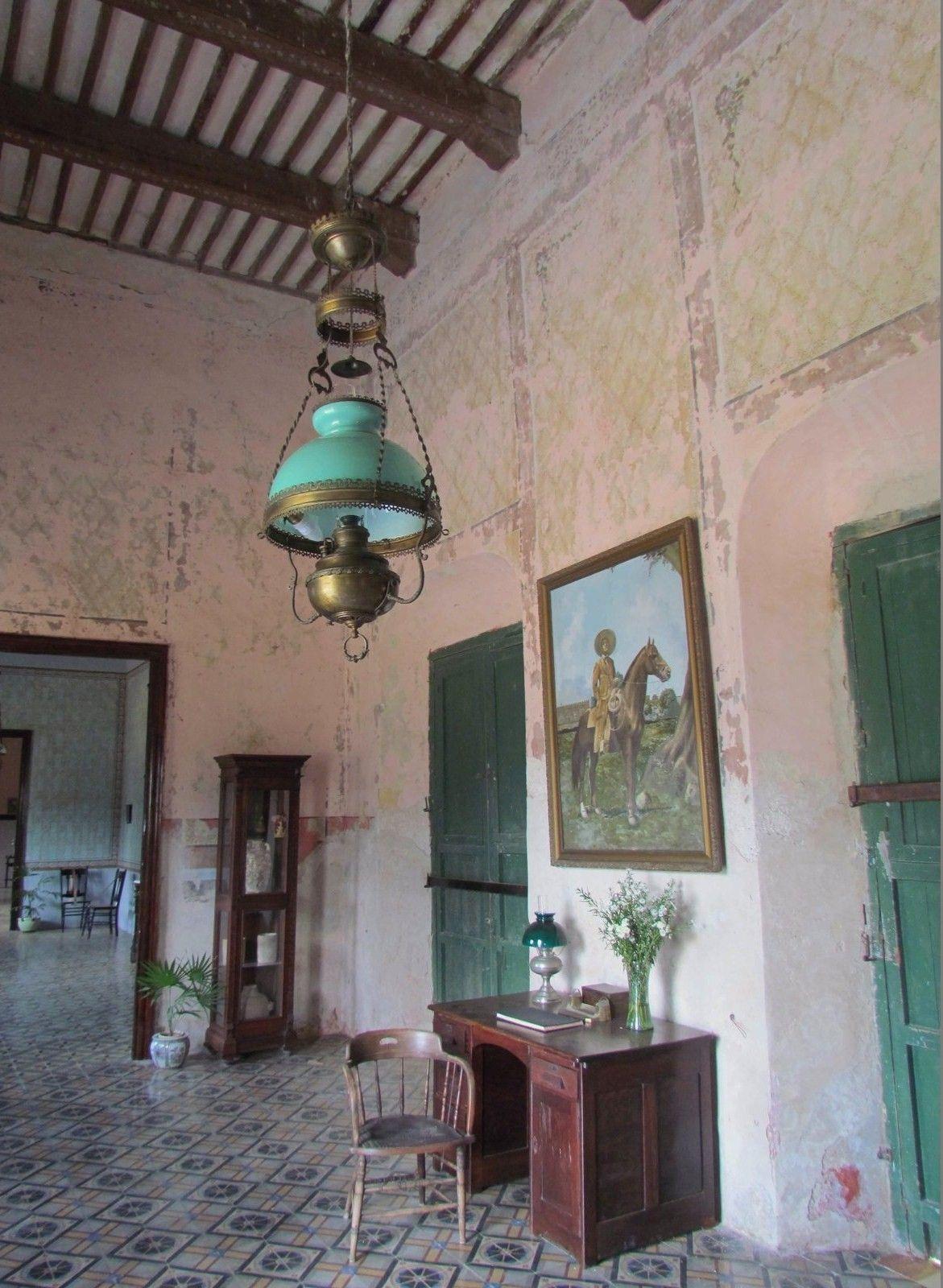 Hacienda in Yaxcopoil village, Yucatan, Mexico
