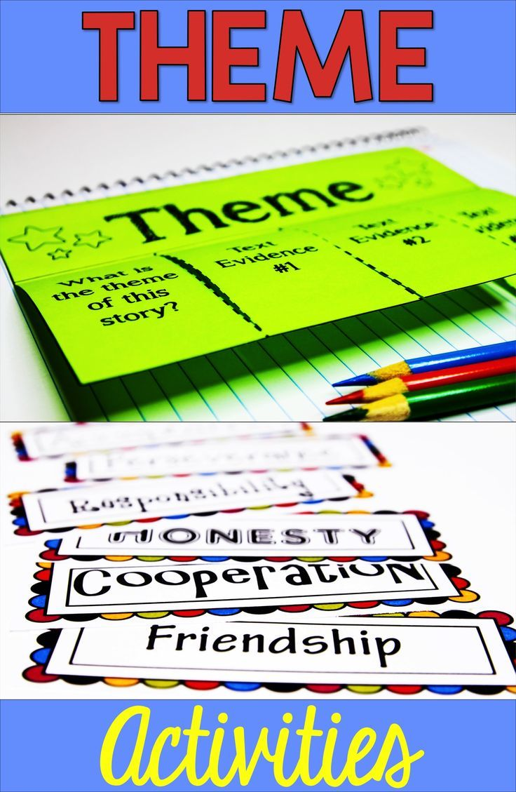 Theme And Teaching Theme Tpt Language Arts Elementary