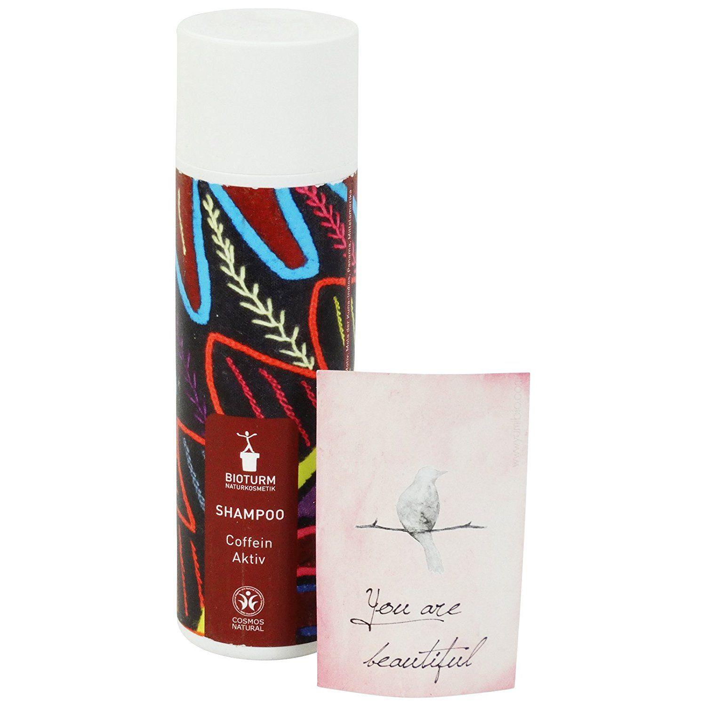 BIOTURM Shampoo Caffeine Active with Guaraná and Green