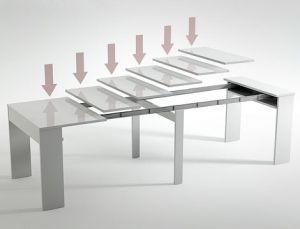 Groupalia Comprar Oferta Mesas Extensibles Con Capacidad Para Hasta 10 Comensales Grou Dinning Tables And Chairs Extendable Dining Table Dining Room Table